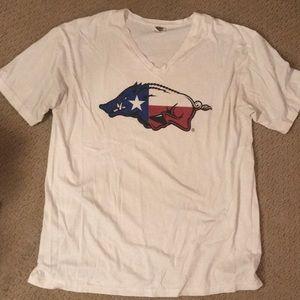 Arkansas Razorback Texas T-shirt
